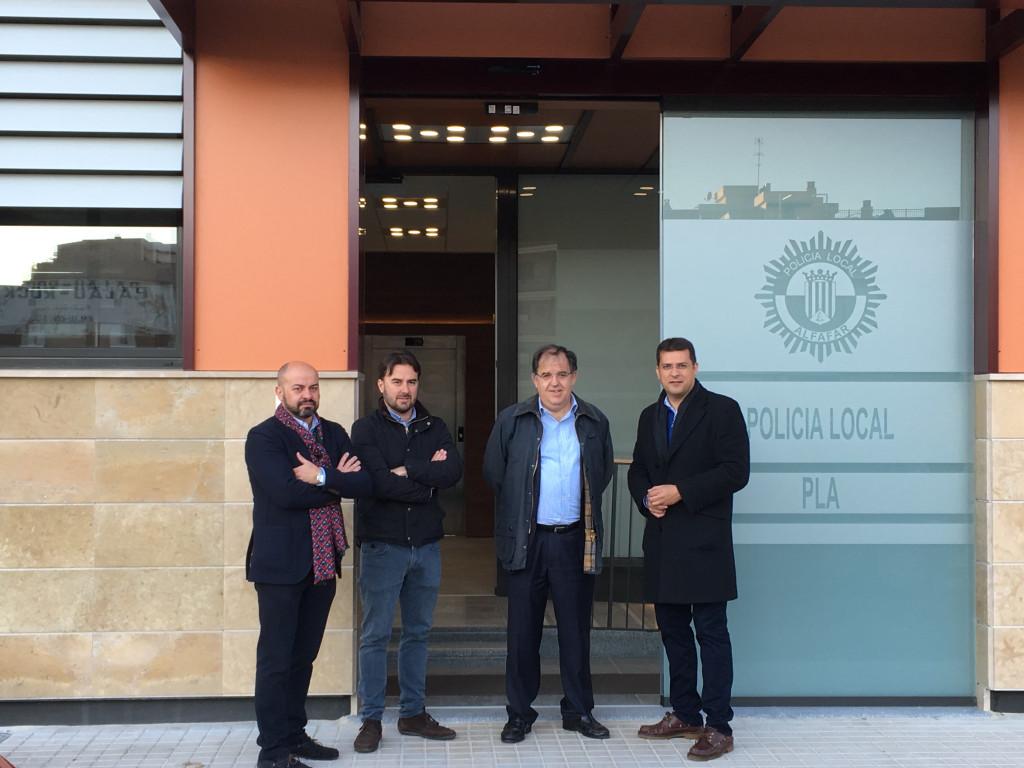Nuevo Edificio Policía Local Alfafar