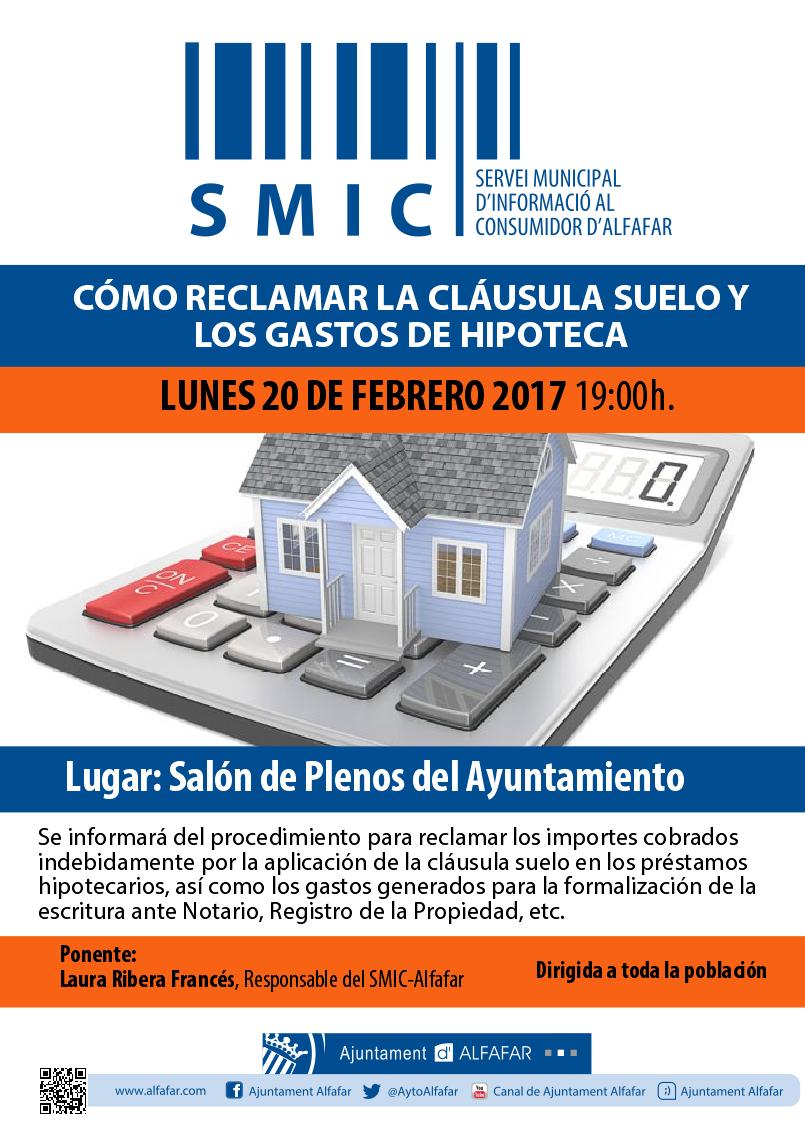 Ajuntament d 39 alfafar for Clausula suelo mayo 2017