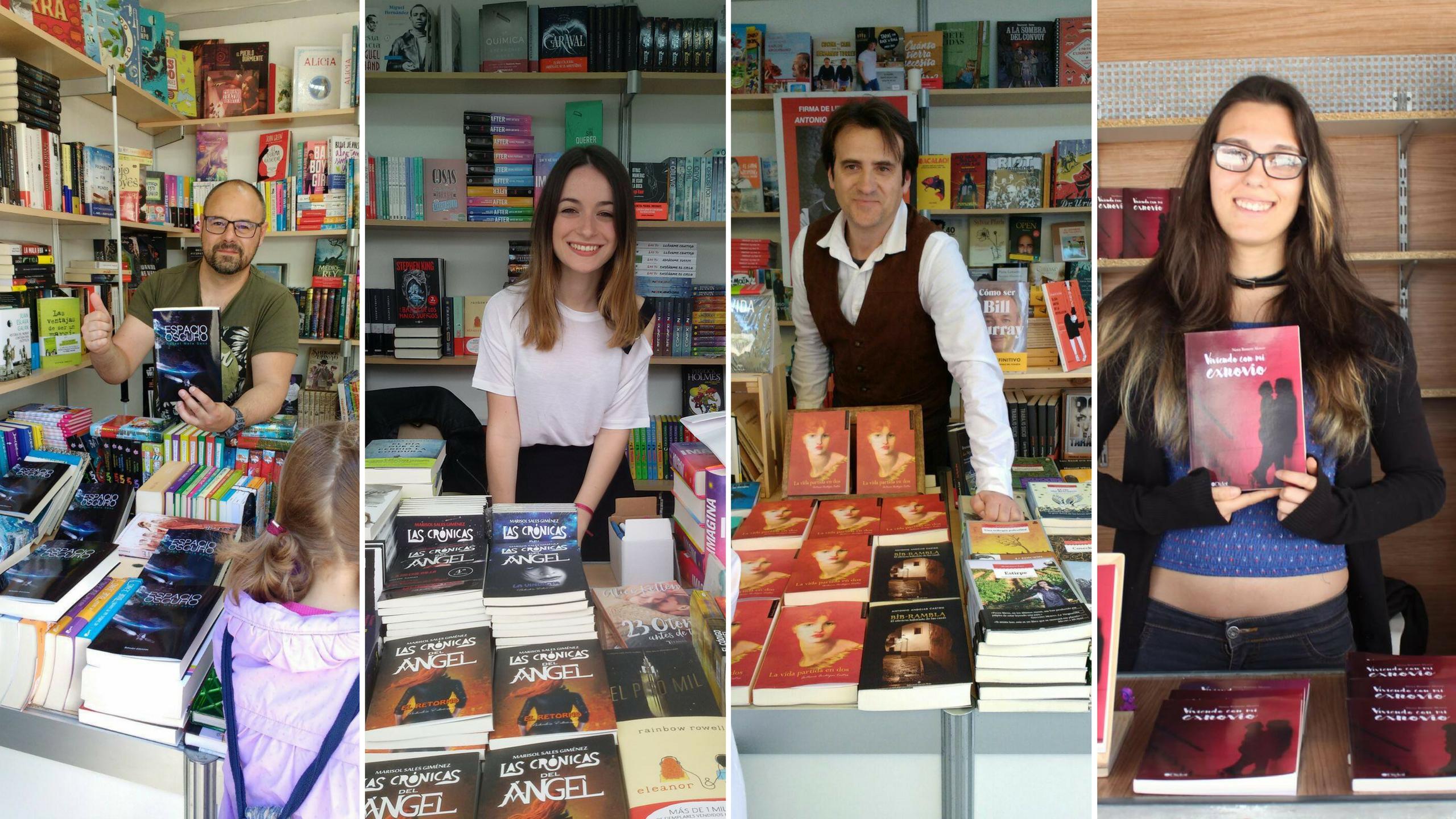 Escritores y escritoras Feria del Libro Valencia