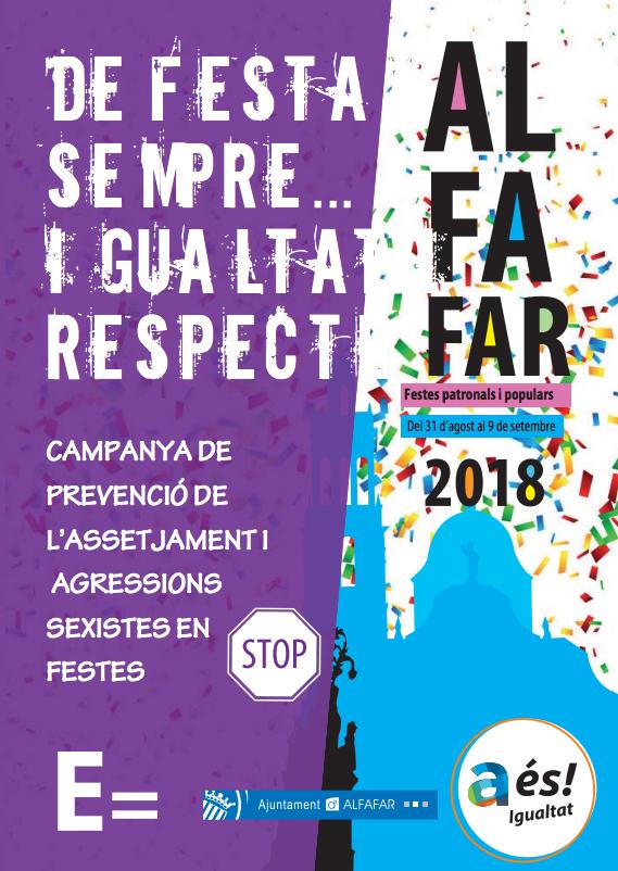 ALFAFAR FESTES RESPETE