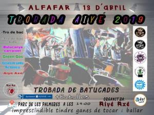 CONCENTRACION BATUCADAS PARC PALMERES 13 ABRIL ALFAFAR 2019