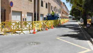 Obras calle Veleta Alfafar